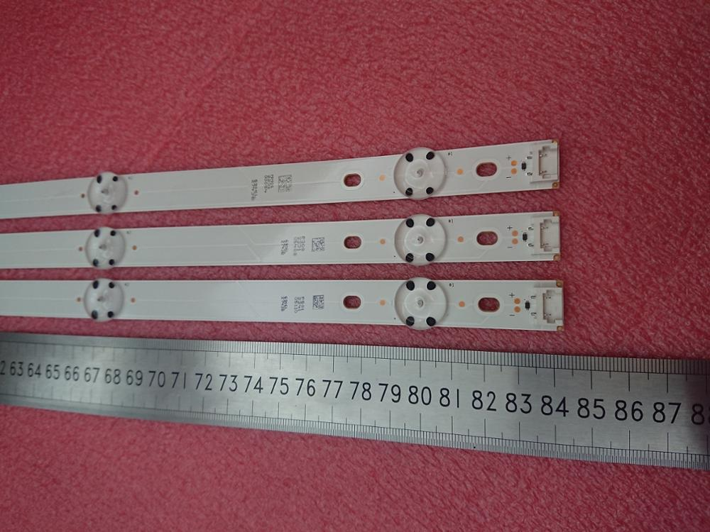 New Kit 3 PCS 7LED 840mm LED Backlight Strip For LG 43LH590V 43LH510V 43LH5700 6916L-2743A 6916L-2743B 43 V16.5 ART3 2743