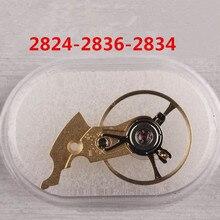 Металлические часы Баланса Колеса замена аксессуар для приблизительный срок поставки: 2824 2834 2836-2 часового механизма инструмент для ремонта Запчасти золото