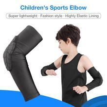 Детские уличные спортивные защитные наколенники налокотники для мальчиков футбольные баскетбольные анти-осенние защитные снаряжение
