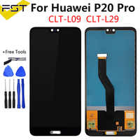 6.1'' TFT For Huawei P20 Pro LCD Display+Touch Screen Digitizer Assembly Replacement for Huawei P20Pro CLT-L04 CLT-L09 CLT-L29