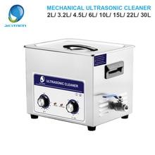 Skymen Mechanische Knop Ultrasone Reiniger Bad 2L/3.2L/4.5L/6L/10L/15L/22L/30L Onderdelen Schoner Ultrasone Reiniger