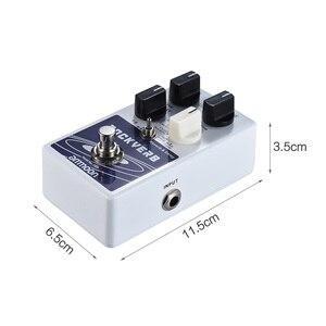 Image 3 - Ammoon POCKVERB Reverb i pedał z efektem Delay do gitary 7 efektów pogłosu + 7 efektów opóźnienia z funkcją Tap Tempo True Bypass