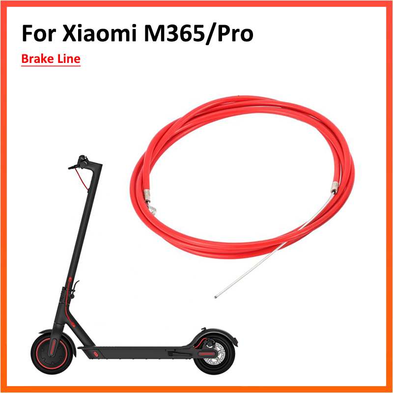 Repair Parts Brake Line Cable Replacement For Xiaomi M365 Electric Scooter Accessotires