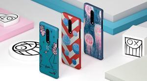 Image 4 - Original Official OnePlus 8 Pro Case Andre Kevlar Karbon Carbon Sandstone Nylon Oneplus 6T 7 7T Pro Case Back Cover Shell