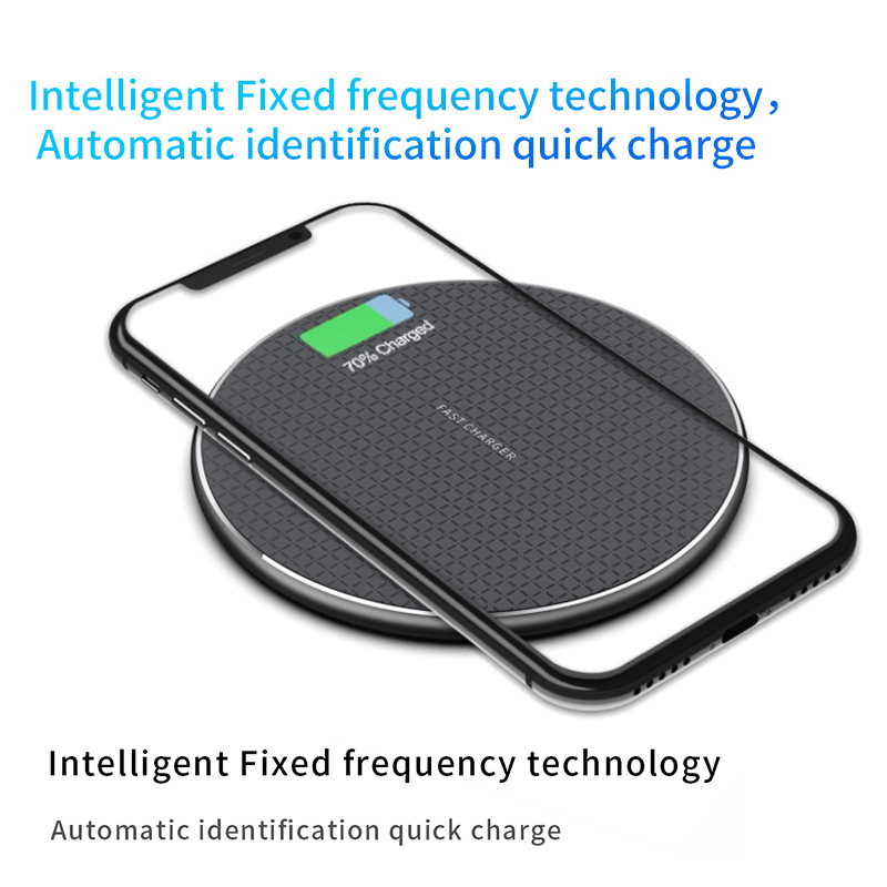 Image 5 - 10W Qi Wireless Charger for iPhone 11 Pro X/XS Max XR 8 Plus Visible Element Wireless Charging pad for Samsung S9 S10+ Note 9 10-in Wireless Chargers from Cellphones & Telecommunications