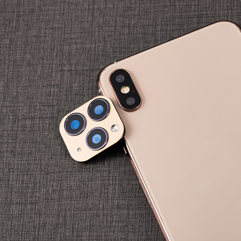 Lens Sticker For IPhone XR/XS Camera Cover Seconds Change Fake Camera For IPhone 11 QJY99