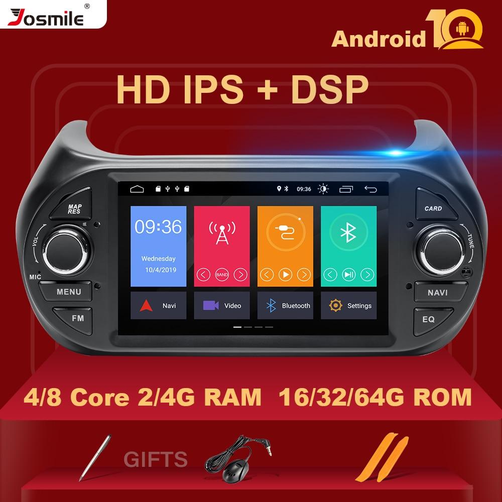IPS DSP 4GB+64G Android 10 Car Radio Multimedia PlayerGPS DVD For FIAT Fiorino Qubo Citroen Nemo Peugeot Bipper Autoradio Stereo