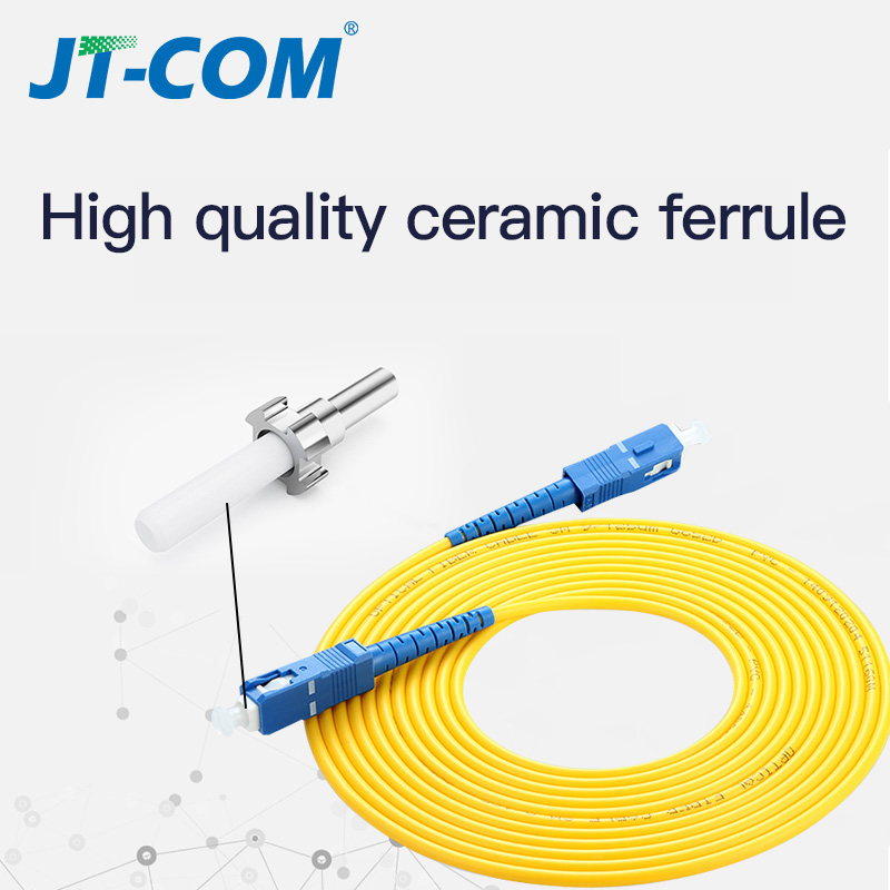 SC SC Singlemode Fiber Optic Patch Cable SC UPC SM 2.0mm 3.0mm 9/125um FTTH Fiber Patch Cord Optical Fiber Jumper 3m 5m 10m 30m
