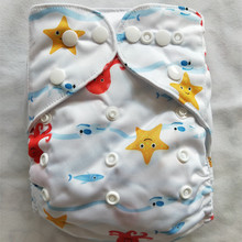 Washable Diapers Couches Bamboo-Insert Changing Baby Nappy Eco-Friendly Wrap