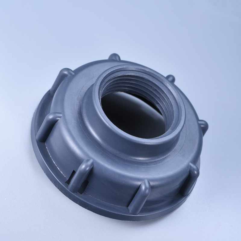 Durable IBC Tank Fittings S60X6 Coarse Threaded Cap 60mm Female Thread To 1/2