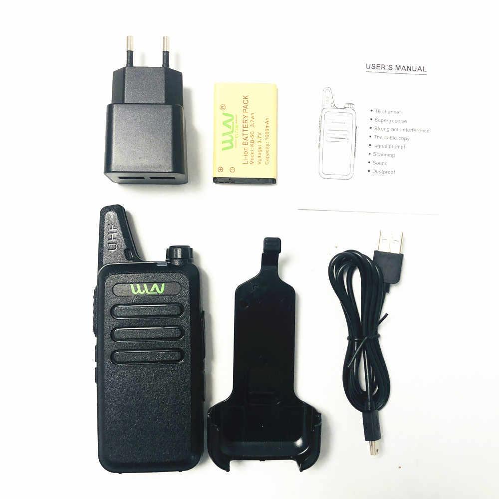 WLN KD-C1 MINI transmisor de mano KDC1 UHF Radio bidireccional, comunicador HF, estación de radio cb mi-ni, Walkie Talkie WLN KD C1