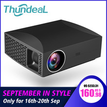 ThundeaL Full HD Projector F30 Native 1920x1080 5500Lumen 3D Video LED LCD Optional F30 UP WiFi Android Bluetooth F30Up Beamer(China)
