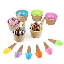 Детские чаши для мороженого чашка парные чашки контейнер десертов