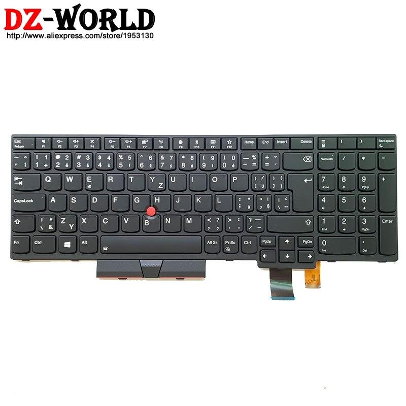 New Original CZ Czech Backlit Keyboard For Lenovo Thinkpad T570 P51S T580 P52S Laptop Backlight Teclado 01ER590 01ER549