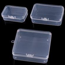 10 шт мульти Размеры пластиковая коробка прозрачного мелких