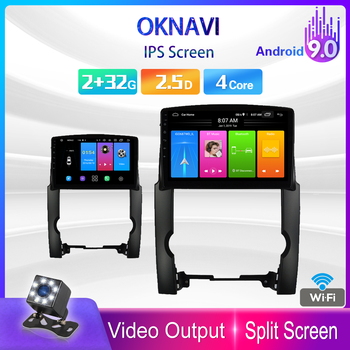 OKNAVI 10 Inch Auto Car Radio Android 9.0 WIFI Bluetooth Multimedia Video 2din DVD Player for Kia Sorento 2 2009 2010 2011 2012 image