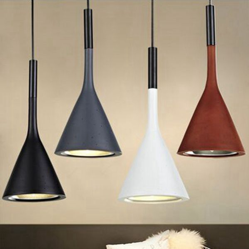 Aplomb Replica Foscarini Pendant Light For Dining Room Kitchen Island Table Lights Resin Cement Beton Light