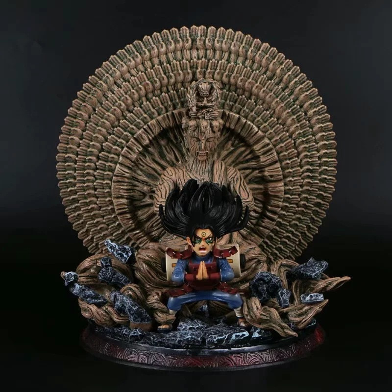 Naruto Senju Hashirama Shodai Hokage Thousand-hand Bodhisattva GK Statue Action Figurine Collection Model Toys Doll Gifts
