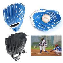 Baseball-Glove Softball Practice-Equipment Training Sports Blue Black Left for Adult