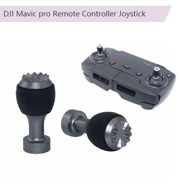 2pcs Remote Controller Joystick Transmitter Thumb Stick Rocker Control Stick For DJI Mavic Pro Air Mavic 2 Zoom Spark Mavic Mini