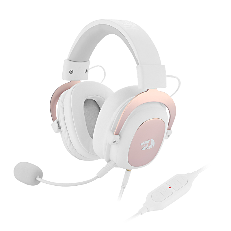Redragon H510 Zeus Wired Game Headphone 7 1 Surround Stereo Memory Foam Ear Pad Removable Microphone For Pc Ps4 And Xbox One Headphone Headset Aliexpress