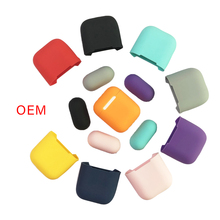 Soft Silicone Cases For Apple Airpods 1/2 Protective Bluetooth Wireless Earphone Cover For Apple Air Pods TWS Charging Box Bags for apple air pods charging box protective cover luxury crocodile pattern leather bluetooth wireless earphone case for airpods