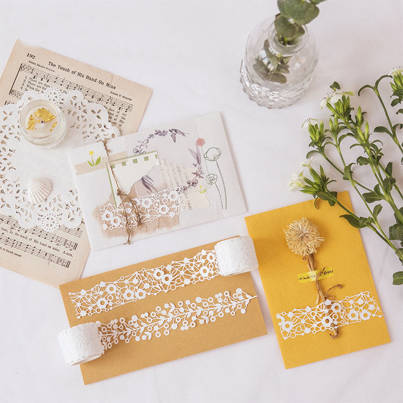 Mohamm Within Mountain Series Color Washi Masking Tape Release Paper Stickers Scrapbooking Stationery Decorative Tape