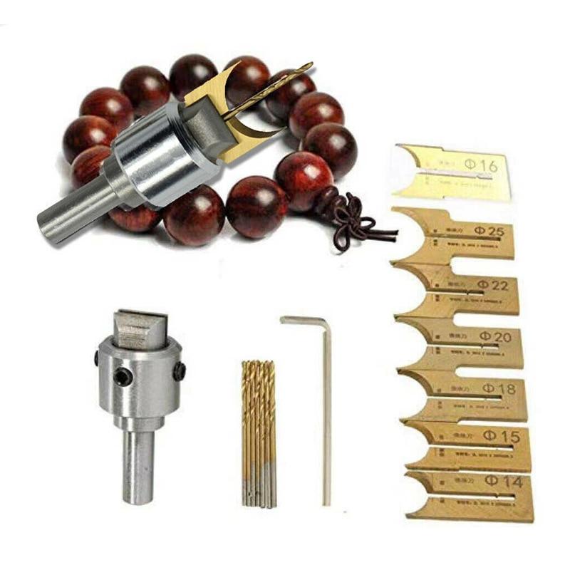 10PCS Pattern Wooden Bead Maker Beads Drill Bit Mini Milling Cutter Set Kit Tool For DIY Drill Bits    - AliExpress