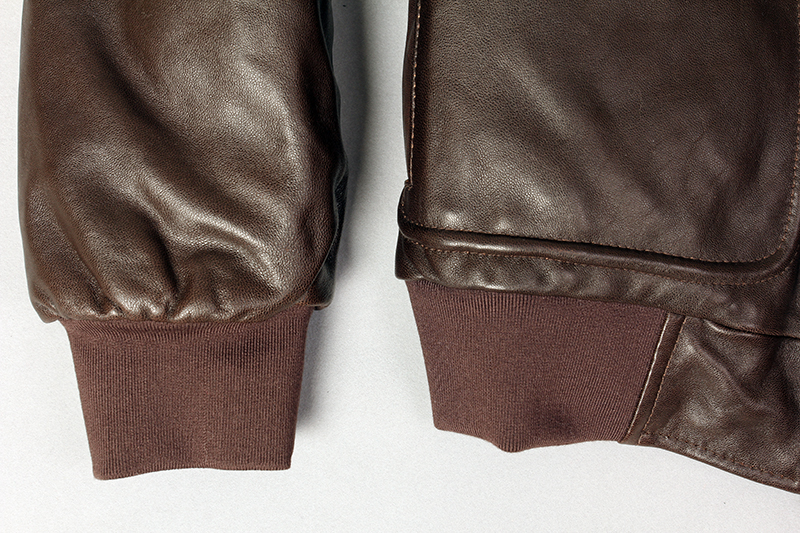 H99171b2d797442d29374de804d484060M Military air force flight jacket fur collar genuine leather jacket men winter dark brown sheepskin coat pilot bomber jacket