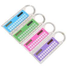 Colorful Student Mini Portable Solar Energy Calculator Office Stationery Calculators Office Electronics