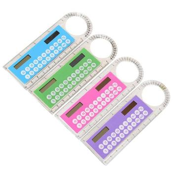 Kolorowy Student Mini przenośny kalkulator energii słonecznej materiały biurowe kalkulatory elektronika biurowa tanie i dobre opinie centechia Other CN (pochodzenie) SOLAR KALENDARZ Z tworzywa sztucznego BG79084