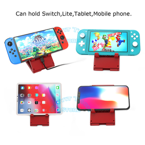 Image 5 - Nintendoswitch Leuke Draagbare Verstelbare Houder Nintend Switch Console Stand Ns Ondersteuning Beugel Voor Nintendo Switch/Lite Game