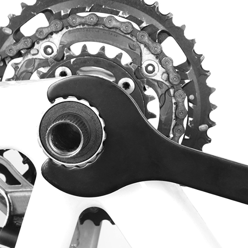 Cycling Spanner Wrench Install Crankset for Shimano Hollowtech 2 High Quality