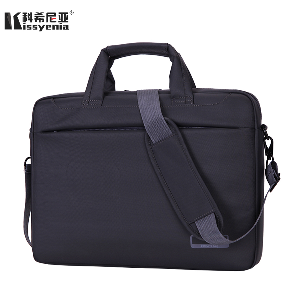 Kissyenia Business Travel Men's Laptop Briefcase 15inch Waterproof PC Tablet A4 Laptop Bag Shockproof Bolsa Masculina KS1197