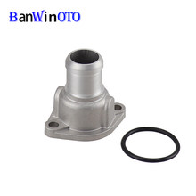 Koelvloeistof Slang Connector Flens Fit Voor Audi A6 Seat Skoda Vw Golf Jetta Santana Scirocco Passat B3 B4 Polo lupo Caddy(China)