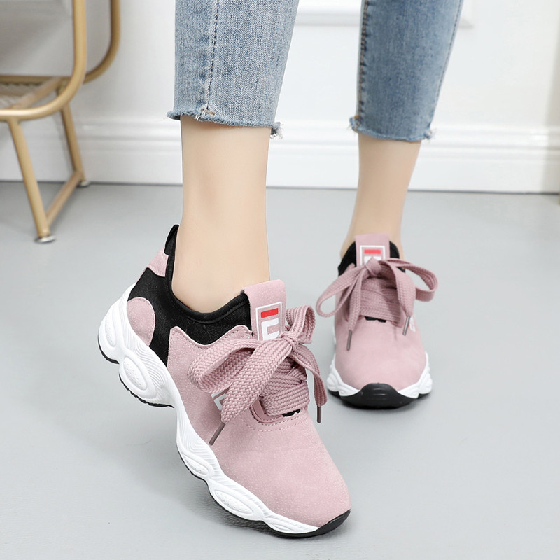 Sports Shoes Female Spring 2020 New Baitiechao Leisure Shoes Small White Shoes