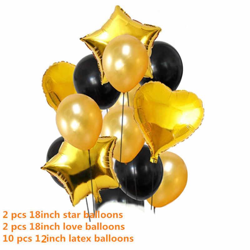 14 шт. 12 дюймов металлические цвета латексные воздушные шары конфетти воздушные шары надувные шары для дня рождения Свадебный шар поставки
