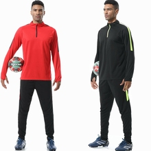 2019 Men sportswear football training suits soccer sets tracksuits long sleeve jerseys Team uniform sports Running kit