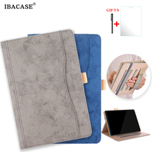 Case for Samsung Galaxy Tab S4 2018 10.5''T830 T835 Tablet Stand cover case PU leather Handheld design smart case стоимость