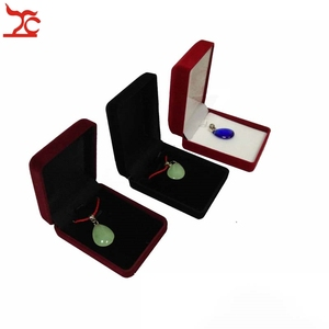 Image 2 - 20Pcs/Lot Velvet  Jewelry Display Case 3 Colors Stud Earring Storage Box Pendant Organizer Holder Gift  Container