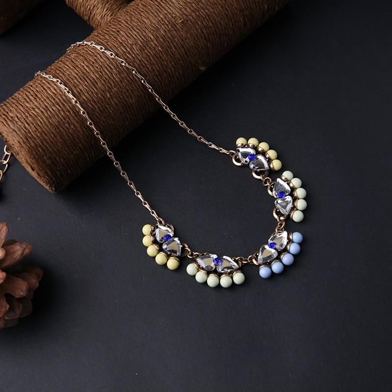 kissme Bohemia Style Hyperbole Women Statement Necklace Big Discount Wholesale Tassel Necklace Fashion Jewelry Clearance Sale(China)