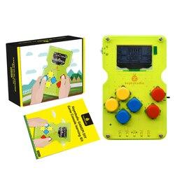 Keyestudio Gamepi ATMEGA32U4 DIY Bộ Handheldcon W/OLED Máy Chơi Game Tay Cầm Bộ Khởi Đầu Cho Arduino Tương Thích Với Arduboy