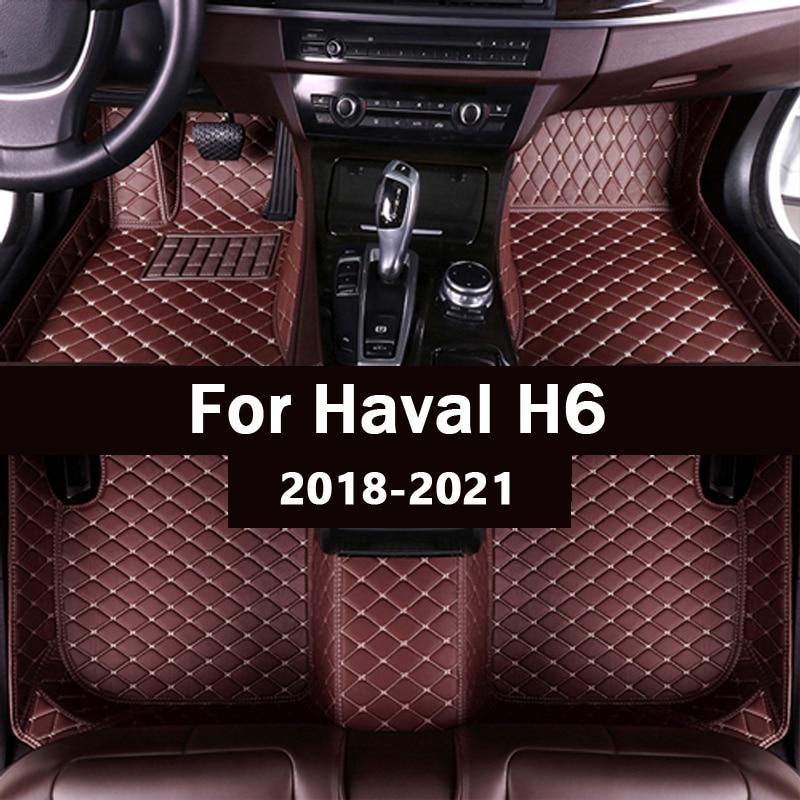 Автомобильные коврики для haval H6 2018 2019 2020 2021, автомобильные накладки на ножки под заказ