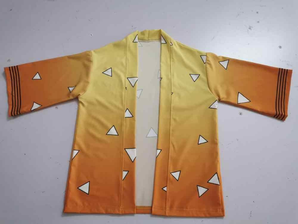 Демон убийца: Kimetsu no Yaiba Kamado Tanjirou кимоно косплей Kamado Nezuko костюмы на Хэллоуин Детский плащ для взрослых накидка костюмы