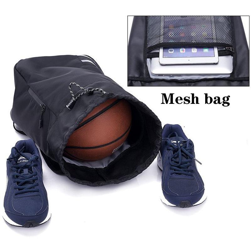 Мужская футбольная Большая вместительная школьная сумка для хранения спортивного зала, баскетбольный рюкзак с кулиской, мячи, водонепроницаемое ведро для спорта на открытом воздухе, путешествий-2