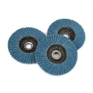 3 шт. шлифовальные круги Лоскутные диски 75 мм 3 дюйма шлифовальный диск шлифовальные диски лезвия для угловая шлифовальная машина дерево абразивный инструмент