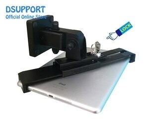 Image 5 - Neue Tablet ständer halter schreibtisch stand/wand montiert anti dieb für 7 13 inch vielzahl größe tabletten, universal tablet ständer mit schloss