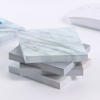 1PC Creative Marble Self Adhesive Memo Pad New Style Sticky Notes Bookmark School Office Stationery