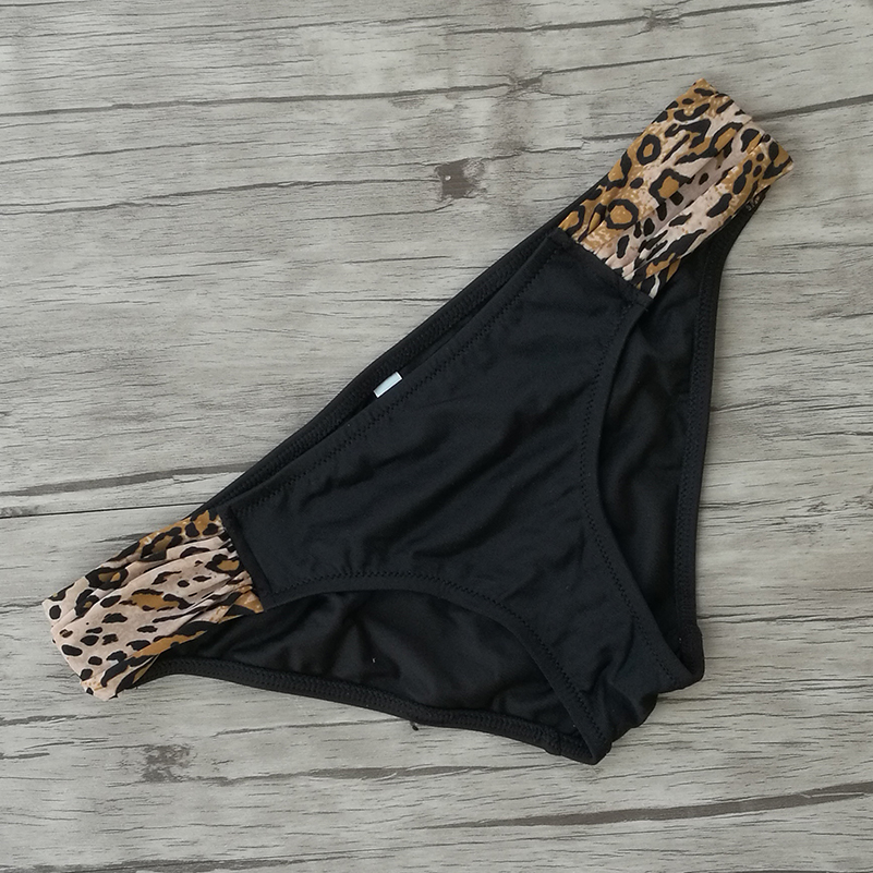Woman Bikini Bottom Low Waist Trunks for Girl Swimming Swimsuit Biquini Brazilian Bottoms Sexy swimwear Secret Thong bottoms 4