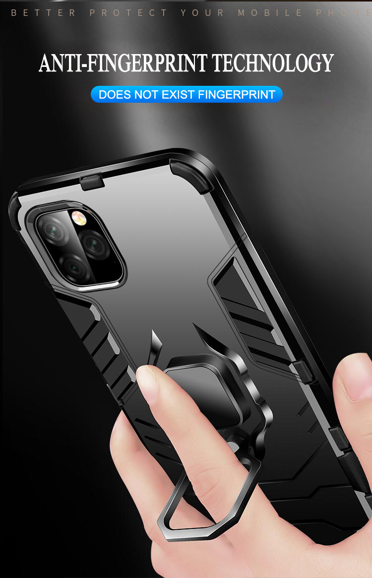 Armor Phone Standing Case With 360-Degree Intimate Guardianship For Huawei And Honor 14